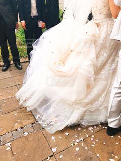 ウェディング ドレスの人の写真・画像素材[1229708]