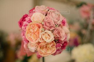 花,LOVE,屋内,ピンク,結婚式,ブーケ,前撮り,ピンク色,pink,ウェディングブーケ