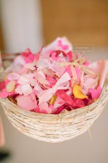 花,LOVE,ピンク,結婚式,リボン,前撮り,ピンク色,pink,フラワーシャワー