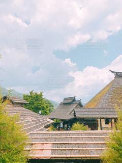 風景,空,建物,木,屋外,綺麗,散歩,古民家