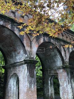 秋,京都,旅行,アーチ,南禅寺,水路閣