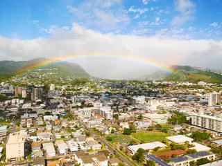 ハワイ,アメリカ 旅行 思い出 虹