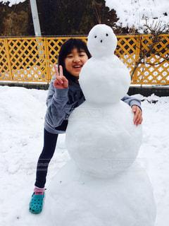 雪だるま⛄️の写真・画像素材[1021646]