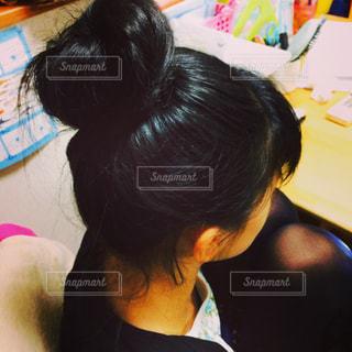 お団子娘🍡の写真・画像素材[1043502]