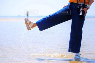 自然,海,夏,カメラ,カメラ女子,青,水色,キラキラ,休日