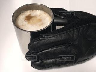 コーヒーを一杯飲むの写真・画像素材[3036024]