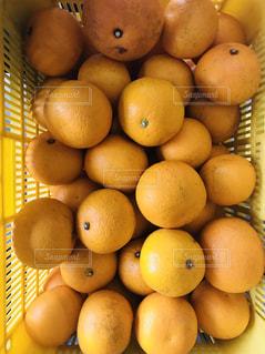 テーブルの上に座ってオレンジの山 - No.1076308