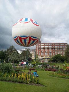 イギリスのボーンマス中心にある公園の写真・画像素材[1014565]