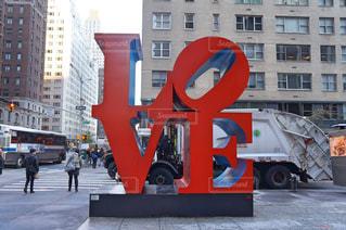 ニューヨーク,LOVE,アメリカ,観光,旅,オブジェ,留学,町,New York,5th Avenue,love sculpture