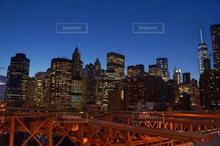 ブルックリンブリッジ,橋,夜景,ニューヨーク,アメリカ,観光,旅,留学,町,New York,ブルックリン,brooklyn Bridge