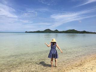 沖縄 白保海岸の写真・画像素材[1018437]