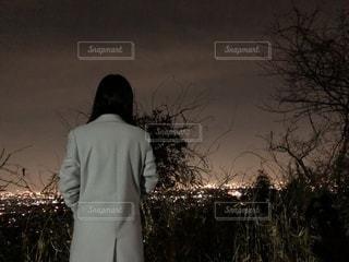 長楽寺近くの夜景の写真・画像素材[1018448]