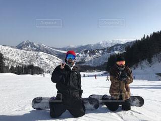冬,雪,白,雪山,スキー,スノボー,遊び,友達,ウィンタースポーツ,ボード,ボード仲間