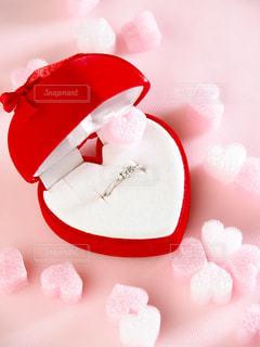 ピンク,赤,カラフル,きれい,ハート,結婚,リング,愛,婚約指輪,ダイヤモンド
