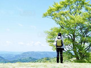 山を撮るの写真・画像素材[1407812]