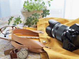 カメラとお出かけの写真・画像素材[1663207]