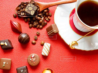チョコとコーヒーの写真・画像素材[1776607]