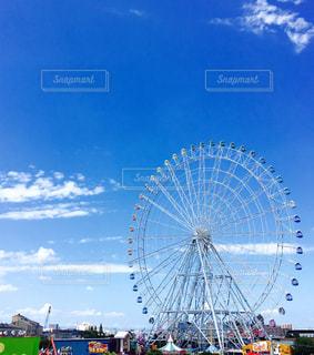 青空の休日の写真・画像素材[1875702]