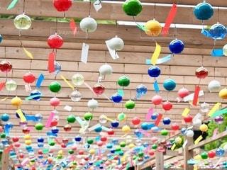 風鈴祭りの写真・画像素材[3371159]