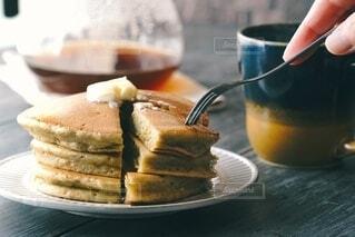 大好きホットケーキの写真・画像素材[4859198]