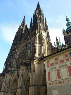 チェコ プラハの聖ヴィート聖堂の写真・画像素材[1020017]