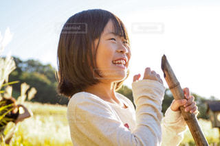 自然が大好き!良い歯の日!の写真・画像素材[1588905]