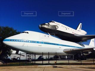 今は無きスペースシャトル輸送機の写真・画像素材[1022010]