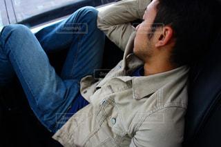 車の中での写真・画像素材[2717560]