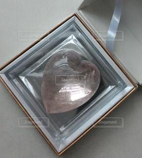ピンク,プレゼント,ハート,箱,贈り物,石,宝石,天然石,クリスタル,宝石箱