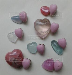 ピンク,赤,ハート,ブルー,石,宝石,天然石,クリスタル