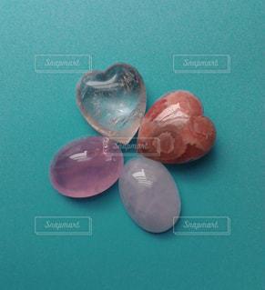 ピンク,赤,ハート,石,宝石,レッド,天然石,クリスタル