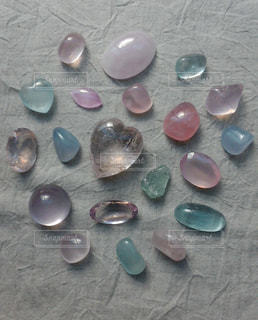 淡色石の写真・画像素材[1589226]