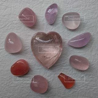 ピンク,ハート,甘い,天然石,ストーン,クリスタル,ローズクォーツ,モルガナイト,ロードクロサイト