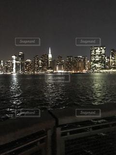 ニューヨークの夜景の写真・画像素材[1698161]