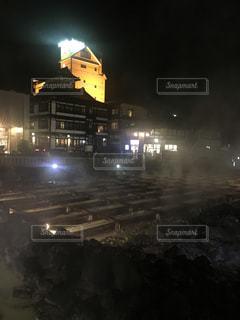 夜の街の写真・画像素材[1025000]