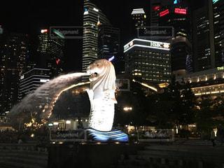夜の街の写真・画像素材[1023069]