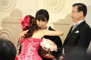 ピンク,バラ,結婚式,母親,披露宴,新婦,母,ママ,お母さん,両親,花束贈呈,お母さんフォト
