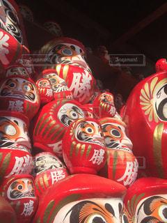 勝尾寺のダルマです。の写真・画像素材[1024133]