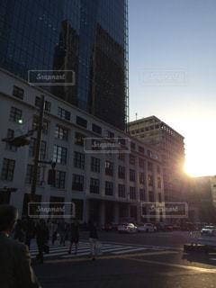 ビジネス街の写真・画像素材[1058795]