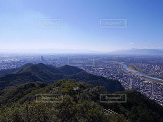 金華山からの岐阜市の写真・画像素材[1398268]