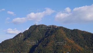 金華山と岐阜城の写真・画像素材[1404438]