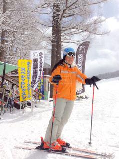 スキーヤーの写真・画像素材[1046810]