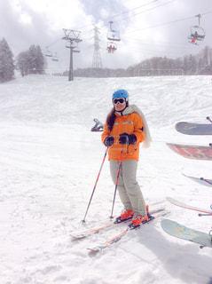 かぐらみつまたのスキーヤーの写真・画像素材[1047072]