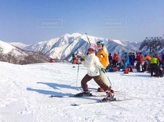 スキーヤーの写真・画像素材[1047143]