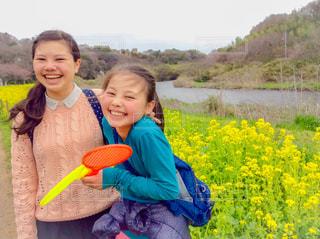 菜の花の季節の写真・画像素材[1051054]