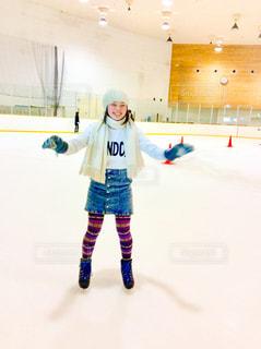 スケート女子の写真・画像素材[1051242]