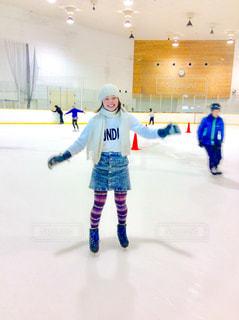 スケート女子の写真・画像素材[1051268]