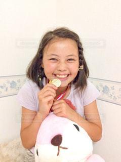 勝利の笑顔 - No.1051720