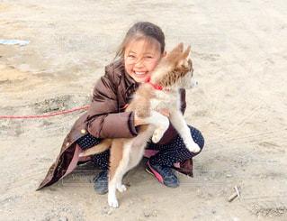 犬と少女 - No.1051901