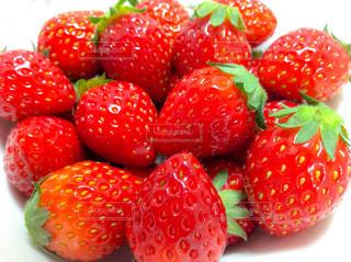 真っ赤なイチゴの写真・画像素材[3168902]